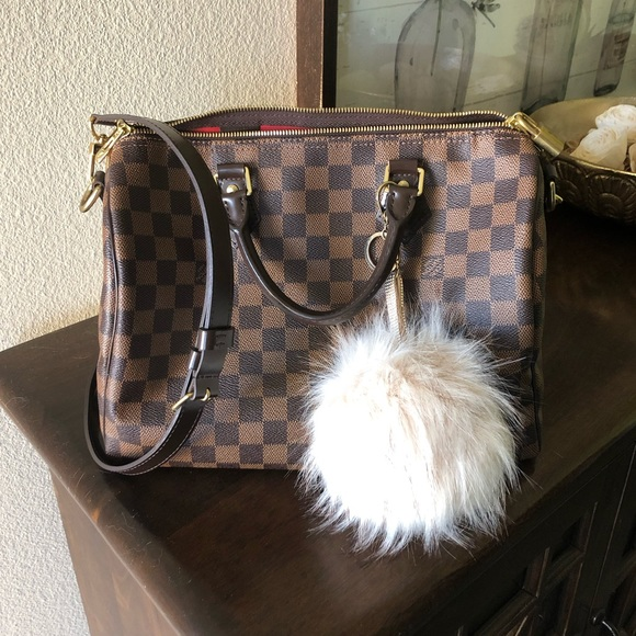 Louis Vuitton Handbags - SOLD! Louis Vuitton Speedy B 30 in Damier Ebene